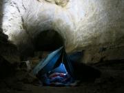 bivak v Pieskovej chodbe